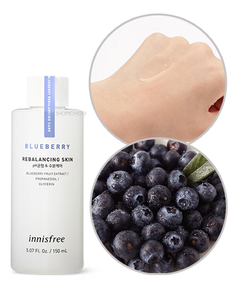 Blueberry Rebalancing Skin - The Ichigo Shop